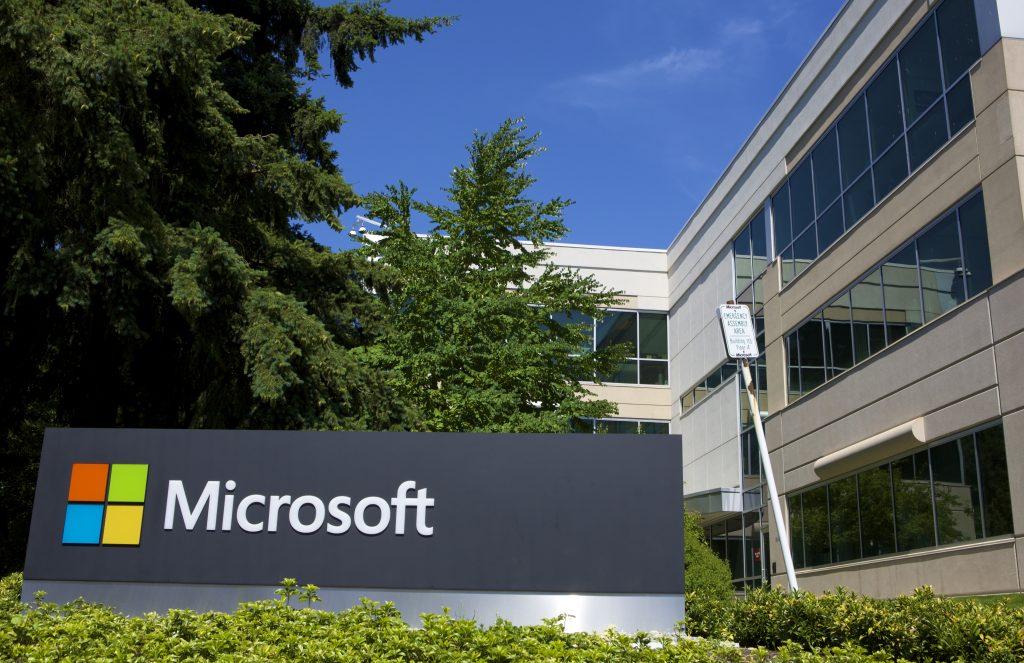 Gebouw van de Microsoft Redmond campus